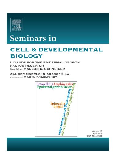 Titelblatt der aktuellen Ausgabe von Seminars in Cell and Developmental Biology